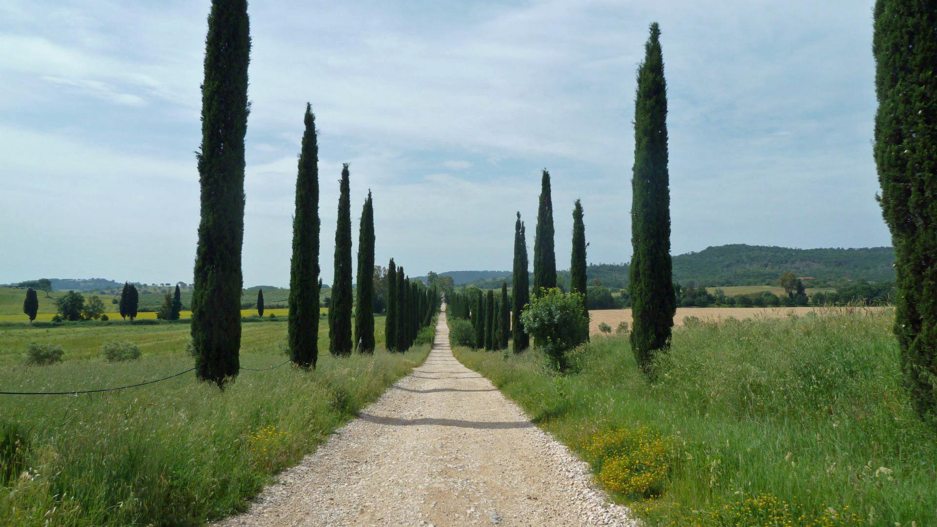Via Clodia - 1. Etappe
