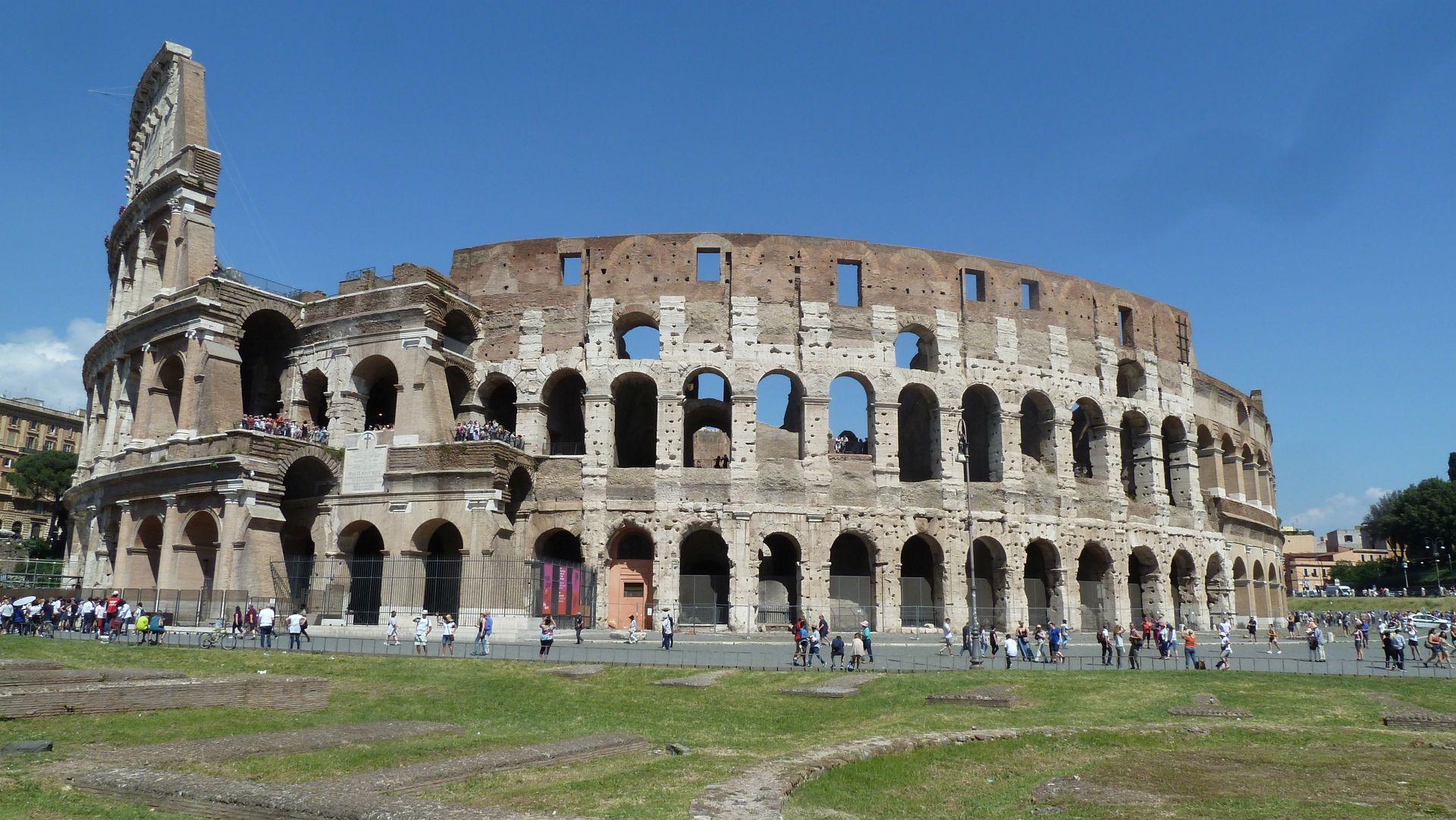Ziel: Kolosseum in Rom